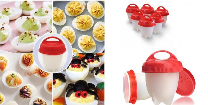 5,90€ από 10€ (-40%) για ένα Σετ 6 Τεμαχίων Αντικολλητικά Σιλικόνης Για Βράσιμο Αυγών Silicone Egg Boil, με παραλαβή από το κατάστημα Magic Hole στο Παγκράτι και με δυνατότητα πανελλαδικής αποστολής.