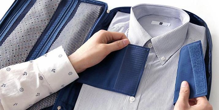 12,90€ για μία Φορητή Θήκη για Πουκάμισο και Γραβάτες (Αποθηκεύει μέχρι 3 πουκάμισα και4 γραβάτες), με δυνατότητα παραλαβής και πανελλαδικής αποστολής στο χώρο σας από την DoneDeals Goods. εικόνα