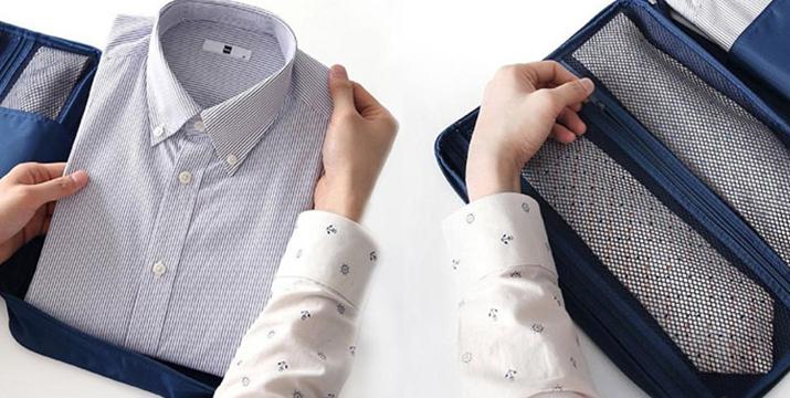 10,90€ για μία Φορητή Θήκη για Πουκάμισο και Γραβάτες (Αποθηκεύει μέχρι 3 πουκάμισα και4 γραβάτες), με δυνατότητα παραλαβής και πανελλαδικής αποστολής στο χώρο σας από την DoneDeals Goods.