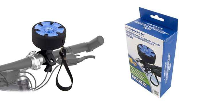 14,90€ από 29,90€ (-50%) για ένα Αδιάβροχο Φορητό Ασύρματο Ηχείο Bluetooth με Βάση Στήριξης Ποδηλάτου Esperanza με 2 χρόνια εγγύηση καλής λειτουργίας, με δυνατότητα παραλαβής και πανελλαδικής αποστολής στο χώρο σας από την DoneDeals Goods.