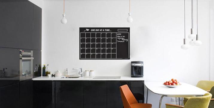 7,90€ από 12,90€ για έναν Μαυροπίνακα Ημερολόγιο Τοίχου, με δυνατότητα παραλαβής και πανελλαδικής αποστολής στο χώρο σας από την DoneDeals Goods.