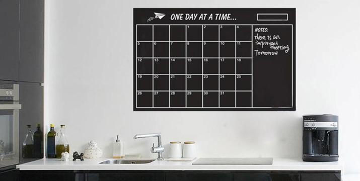 7,90€ από 12,90€ για έναν Μαυροπίνακα Ημερολόγιο Τοίχου, ιδανικό για το σπίτι ή το γραφείο, με δυνατότητα παραλαβής και πανελλαδικής αποστολής στο χώρο σας από την DoneDeals Goods.