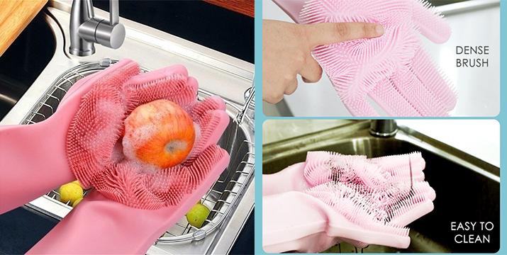 9,90€ από 12,90€ για Μαγικά Γάντια Καθαρισμού με ίνες, με δυνατότητα παραλαβής και πανελλαδικής αποστολής στο χώρο σας από την DoneDeals Goods.