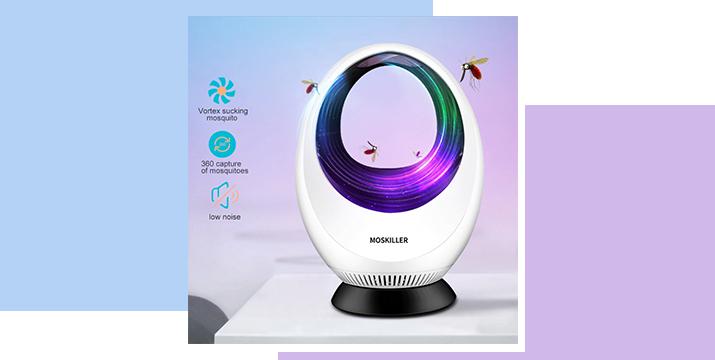11,90€ από 22,90€ (-48%) για ένα USB Αθόρυβο με Φωτοκατάλυση – USB Mosquito Killer, με παραλαβή από το Idea Hellas και δυνατότητα πανελλαδικής αποστολής στο χώρο σας.