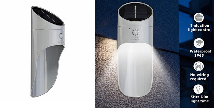 13,90€ από 20,90€ για ένα Επιτοίχιο Αδιάβροχο LED Ηλιακό Φωτιστικό με Αισθητήρα Κίνησης – Solar Microwave LED Wall Lamp, με παραλαβή από το Idea Hellas και δυνατότητα πανελλαδικής αποστολής στο χώρο σας.