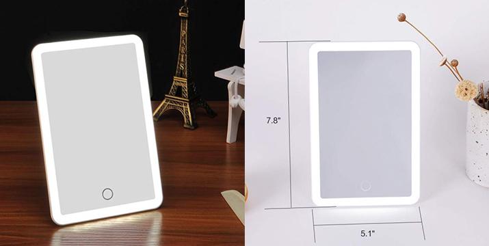 13,90€ από 24,90€ (-44%) για έναν Επαναφορτιζόμενο Καθρέφτη Μακιγιάζ LED με Διακόπτη Αφής, Βάση Στήριξης & Γάντζο – Cosmetic Mirror with Led Lamp, με παραλαβή από το Idea Hellas και δυνατότητα πανελλαδικής αποστολής στο χώρο σας.