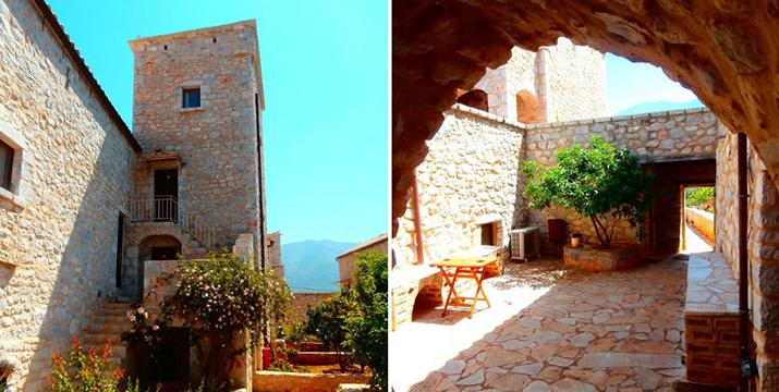 79€ για ένα 3ήμερο 2 ατόμων στους μανιάτικης αρχιτεκτονικής ανακαινισμένο  Πύργους της Εδέμ σε δίκλινο δωμάτιο με παραδοσιακό πρωινό στην Λακωνική Μάνη