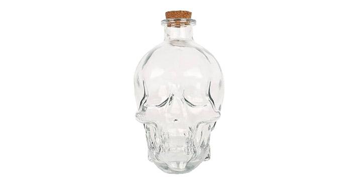 9,90€ από 19,90€ (-50%) για ένα Σετ Γυάλινο Μπουκάλι Κρανίο 850ml με 2 Ποτήρια και κατάλληλο για όλα τα ποτά, με δυνατότητα παραλαβής και πανελλαδικής αποστολής στο χώρο σας από την DoneDeals Goods.