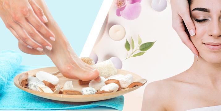 22€ απο 94€ (-76%) για (1) ημιμόνιμο η απλό spa manicure ή spa pedicure, (1) περιποίηση προσώπου ultra-anthrax με υπέρηχο (1) κρυομάσκα ματιών, (1) αποτρίχωση άνω χείλους και (1) τεστ προσώπου skin scanner, από το Unani Biospa στον Γέρακα. εικόνα