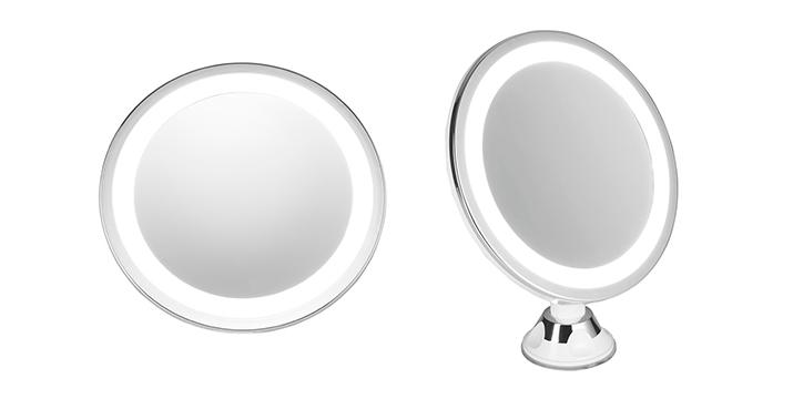 17,90€ από 24,90€ (-40%) για ένα Καθρέπτη Μπάνιου με LED Φωτισμό Adler με Περιστρεφόμενη βάση 360° και 25 LED φώτα , με δυνατότητα παραλαβής και πανελλαδικής αποστολής στο χώρο σας από την DoneDeals Goods.