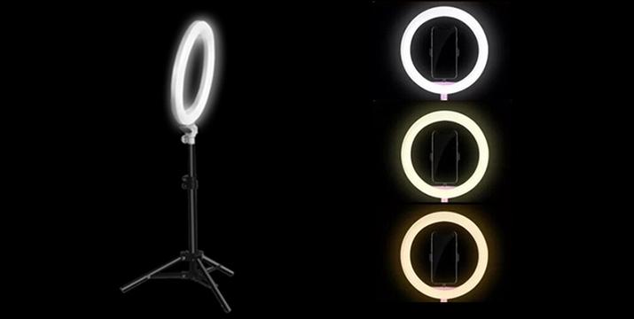 25,50€ από 75€ (-66%) για ένα Φωτιστικό LED δαχτυλίδι 25,5cm με dimmer, τρίποδο και επιλογή 3 χρωμάτων, ιδανικό για επαγγελματίες αισθητικής ιατρικής, αισθητικούς, make-up artists καθώς και λάτρεις της φωτογράφισης, με παραλαβή από το Idea Hellas στη Νέα Ιωνία και με δυνατότητα πανελλαδικής αποστολής στο χώρο σας.