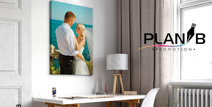 12€ από 70€ (-82%) για μία Εκτύπωση Φωτογραφίας σε ένα Καμβά Ζωγραφικής 30x40 με Τελάρο ή 17€ για Καμβά Ζωγραφικής 50x50 ή 18€ για Καμβά Ζωγραφικής 60x40 ή 33€ για Καμβά Ζωγραφικής 70x100,  με δυνατότητα πανελλαδικής αποστολής, από το Plan B Promotion στο Χαλάνδρι.