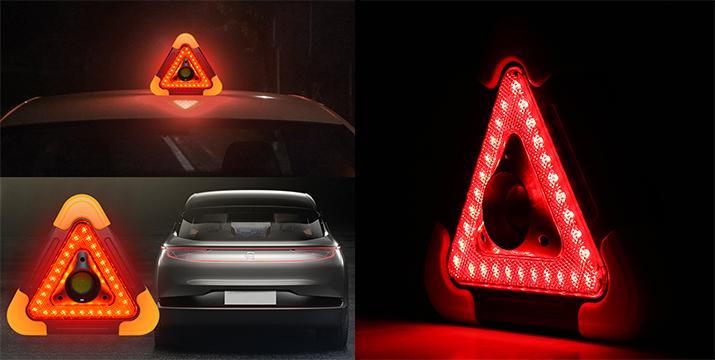 9,90€ από 19,90€ (-50%) για ένα  LED Επαναφορτιζόμενο Tρίγωνο Aσφαλείας Αυτοκινήτου με Ηλιακό Πάνελ, με παραλαβή από το Idea Hellas και δυνατότητα πανελλαδικής αποστολής στο χώρο σας.