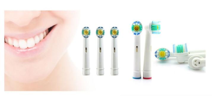 5,90€ από 9,90€ (-40%) για Συμβατά Ανταλλακτικά Βουρτσάκια για Οδοντόβουρτσες Oral-Β 3D 4 τμχ , με δυνατότητα παραλαβής και πανελλαδικής αποστολής στο χώρο σας από την DoneDeals Goods.