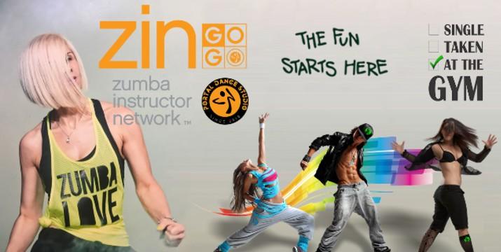 7,50€ από 25€ (-70%) για τέσσερις εβδομάδες Zumba Διάρκειας 8 ωρών, από το Portal Dance Studio στον Κορυδαλλό!!! εικόνα
