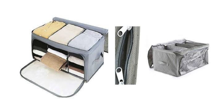 11,90€ από 19,90€ (-40%) για ένα Αναδιπλούμενο Κουτί Αποθήκευσης Ρούχων, με δυνατότητα παραλαβής και πανελλαδικής αποστολής στο χώρο σας από την DoneDeals Goods. εικόνα