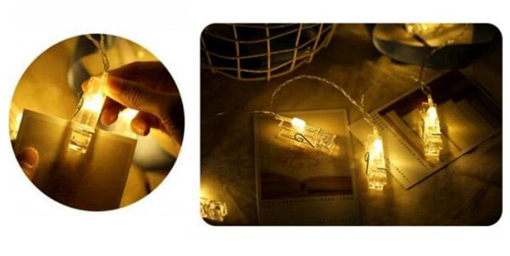 6,90€ από 12,90€ για ένα Σετ 20 Φωτεινά Μανταλάκια LED με θερμό φωτισμό, με δυνατότητα παραλαβής και πανελλαδικής αποστολής στο χώρο σας από την DoneDeals Goods.