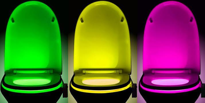 9,90€ από 19,90€ (-50%) για ένα LED Φωτιστικό με 8 Χρώματα και Αισθητήρα Κίνησης για Λεκάνη Τουαλέτας, κατάλληλο για το σπίτι αλλά και ξενοδοχεία, εστιατόρια, καφετέριες και μπαρ, από την DoneDeals Goods με ΔΩΡΕΑΝ πανελλαδική αποστολή στο χώρο σας. εικόνα