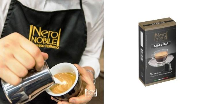 20,90€ από 34,90€ (-40%) για 100 Κάψουλες Καφέ Neronobile Arabica, συμβατές με όλα τα μοντέλα μηχανών εκτός Miele. με δυνατότητα παραλαβής και πανελλαδικής αποστολής στο χώρο σας από την DoneDeals Goods.