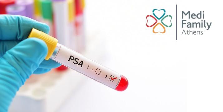 17€ από 100€ (-83%) για Έλεγχο Προστάτη με Αιματολογικές P.S.A, Υπέρηχο, Κλινική Εξέταση, Διάγνωση & Αγωγή, στο Medi Family Athens-Κέντρο -Μουσείο.