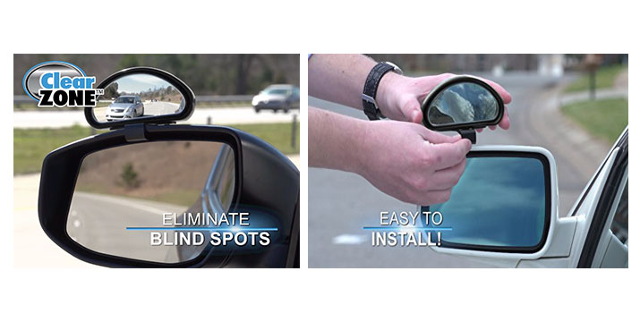 8,90€ από 15,90€ για ένα Σετ Καθρέφτη Clear Zone Blind Spot 2 τεμαχίων για τα τυφλά σημεία του δρόμου, με παραλαβή από το κατάστημα Magic Hole στο Παγκράτι και με δυνατότητα πανελλαδικής αποστολής.