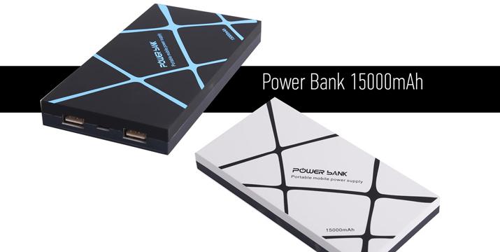 14,90€ από 34,90€ (-57%) για ένα Power bank 5V/15000mAh με 2 θύρες USB, που θα σας σώσει την πιο κρίσιμη στιγμή για κάθε συσκευή σας, με ΔΩΡΕΑΝ ΜΕΤΑΦΟΡΙΚΑ στο χώρο σας από την DoneDeals Goods.