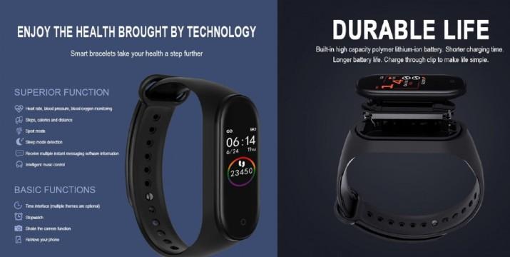 13,90€ από 24,90€ (-44%) για ένα Smart Band Ρολόι με Bluetooth M4, με παραλαβή από το Μagic Hole στo Παγκράτι και δυνατότητα πανελλαδικής αποστολής στο χώρο σας.