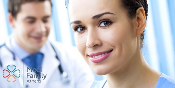 89€ από 500€ (-82%) για Υπερπλήρες Ετήσιο Check-up για Γυναίκες με Πακέτο Εξετάσεων & Διάγνωση, στο Medi Family Athens στο Μουσείο - Κέντρο.
