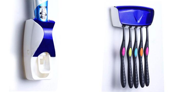 5,90€ από 11,90€(-50%) για μια Θήκη Τοίχου για 5 Oδοντόβουρτσες και μια Αυτόματη Βάση Οδοντόκρεμας,  από την DoneDeals Goods με ΔΩΡΕΑΝ πανελλαδική αποστολή στο χώρο σας.