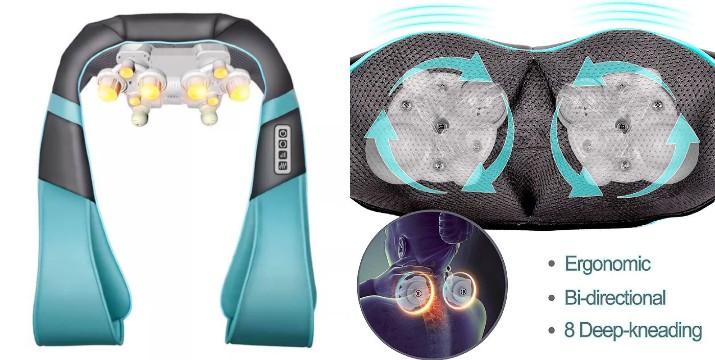28,90€ από 49,90€ (-42%) για μία Συσκευή Μασάζ Shiatsu Songen  Για Αντιμετώπιση του Πόνου στο Λαιμό, Αυχένα, Πλάτη με Θερμότητα – Υπέρυθρη Ακτινοβολιά, με παραλαβή ή δυνατότητα πανελλαδικής αποστολής στο χώρο σας από το Idea Hellas στη Νέα Ιωνία.