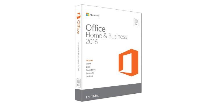 69,90€ από 269,90€ (-74%) για Microsoft Office Home and Business 2016 For Mac 1 User Ηλεκτρονική Άδεια, από την DoneDeals Goods.