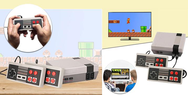 21,90€ απο 39,90€ (-45%) για μία Κονσόλα Retro – 600 παιχνίδια – Game Box 2x Controller για τους λάτρεις των video games, με παραλαβή ή δυνατότητα πανελλαδικής αποστολής στο χώρο σας από το Idea Hellas στη Νέα Ιωνία.