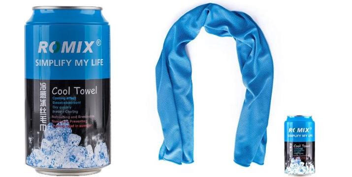 7,90€ από 14,90€ (-47%) για μία Πετσέτα Ψύξης Romix Cool Towel Μπλέ για αθλητικές δραστηριότητες, με παραλαβή από την Idea Hellas στη Νέα Ιωνία και δυνατότητα πανελλαδικής αποστολής στο χώρο σας!