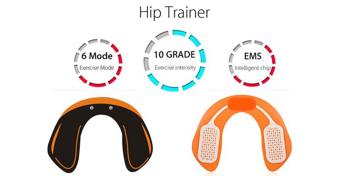 8,50€ από 34,90€ (-75%) για ένα Μηχάνημα Εκγύμνασης Γλουτών EMS Hips Trainer που προσφέρει απώλεια πόντων, σύσφιξη και τόνωση, χάρη στην ηλεκτρομυϊκή διέγερση EMS, με παραλαβή από το Idea Hellas και δυνατότητα πανελλαδικής αποστολής στο χώρο σας.