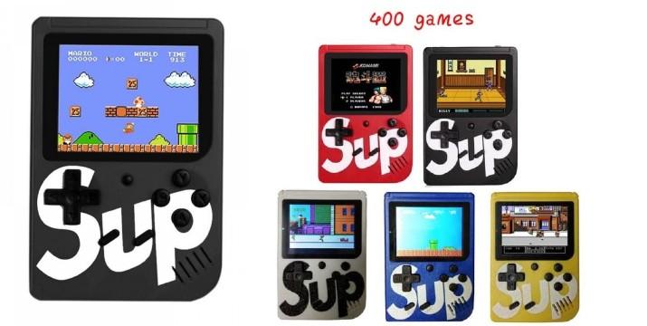 9,90€ από 19,90€ (-50%) για ένα Ρετρό κονσόλα Sup Game Βox 400 in 1 Plus Μαύρο, με μεγάλη γκάμα παιχνιδιών και εκδόσεων όπως Super Mario Bros, SpiderMan, Robocop, Popeye, Pacman, Othello, Transformers και πολλά άλλα, με παραλαβή από το Idea Hellas στη Νέα Ιωνία και με δυνατότητα πανελλαδικής αποστολής στο χώρο σας. εικόνα