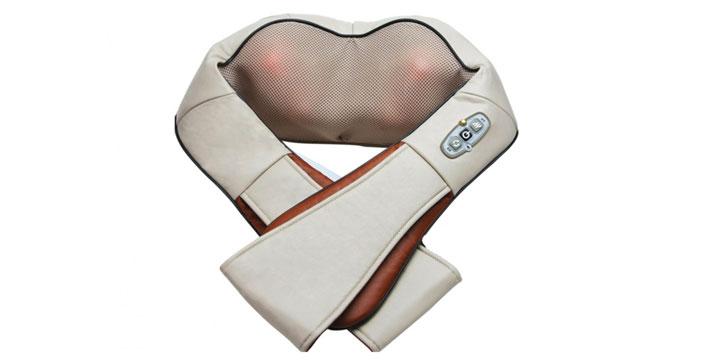 """14,90€ από 29,90€ (-50%) για μία Συσκευή Shiatsu – Μασάζ αυχένα, πλάτη, μέση και πόδια με υπέρυθρη θερμότητα, με παραλαβή ή δυνατότητα πανελλαδικής αποστολής στο χώρο σας από το """"Idea Hellas"""" στη Νέα Ιωνία."""
