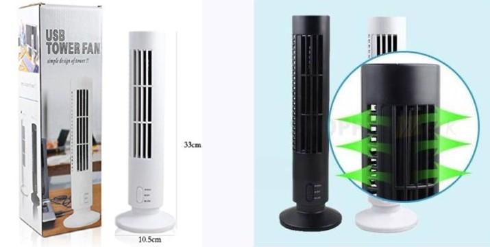11,90€ από 20€ (-40%) για ένα Ανεμιστήρας USB Πύργος – Tower Fan, με παραλαβή από το Idea Hellas και δυνατότητα πανελλαδικής αποστολής στο χώρο σας.