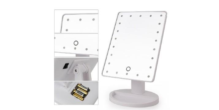 6,90€ από 14,90€ (-54%) για ένα Καθρέπτη Μακιγιάζ με Φωτισμό LED, με παραλαβή από το Idea Hellas και δυνατότητα πανελλαδικής αποστολής στο χώρο σας.