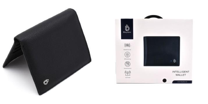 26,90€ από 45€ (-40%) για ένα Έξυπνο  Δερμάτινο Πορτοφόλι Bluetooth GPS χρώματος Μαύρο, με παραλαβή από το Idea Hellas και δυνατότητα πανελλαδικής αποστολής στο χώρο σας.