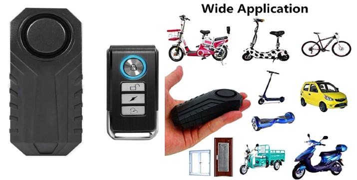 14,90€ από 29,90€ (-50%) για ένα Ασύρματος Συναγερμός με αισθητήρα κατάλληλος για ποδήλατα,πατίνια,μηχανές,αυτοκίνητα κτλ , με παραλαβή από την Idea Hellas στη Νέα Ιωνία και δυνατότητα πανελλαδικής αποστολής στο χώρο σας!