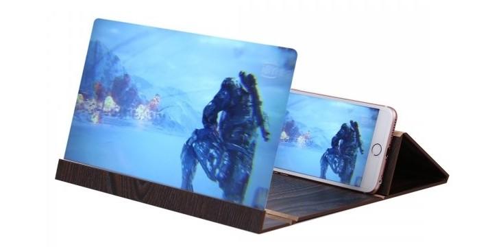 11,90€ από 19,90€ (-40%) για ένα Mobile Stand 3D Ξύλινη Βάση Μεγένθυσης Οθόνης Κινητού 12.0 inch, με παραλαβή από το κατάστημα Magic Hole στο Παγκράτι και με δυνατότητα πανελλαδικής αποστολής. εικόνα