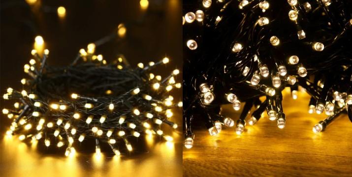 5,90€ από 12,90€ (-50%) για 100 Led Λαμπάκια για εσωτερικό χώρο Christmas lights 9m Θερμό Λευκό, με παραλαβή από την Idea Hellas και δυνατότητα πανελλαδικής αποστολής στο χώρο σας.