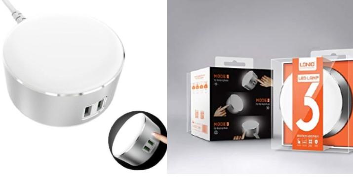 11,9€ από 19,90€ (-40%) για ένα Φορτιστή USB και Νυχτερινή Λυχνία με 3 στάδια φωτός, με παραλαβή ή δυνατότητα πανελλαδικής αποστολής στο χώρο σας από το Idea Hellas στη Νέα Ιωνία!