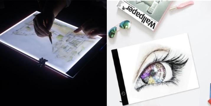 12,90€ από 24,90€ (-50%) για έναν Πίνακα Σχεδίου Ζωγραφικής με φωτισμό LED και καλώδιο USB, με παραλαβή από το κατάστημα Magic Hole στο Παγκράτι και με δυνατότητα πανελλαδικής αποστολής. εικόνα