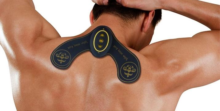 12,90€ από 24,90€ για μια Επαναφορτιζόμενη Συσκευή Θεραπείας Αυχένα - Tens Pain Relief για ανακούφιση του αυενικού πόνου, με παραλαβή από το κατάστημα Magic Hole στο Παγκράτι και με δυνατότητα πανελλαδικής αποστολής. εικόνα