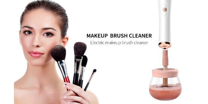 14,90€ από 29,90€ (-50%) για μία Ηλεκτρική Συσκευή Καθαρισμού Πινέλων Μακιγιάζ Electric Makeup Brush Cleaner, με παραλαβή από το κατάστημα Magic Hole στο Παγκράτι και με δυνατότητα πανελλαδικής αποστολής.