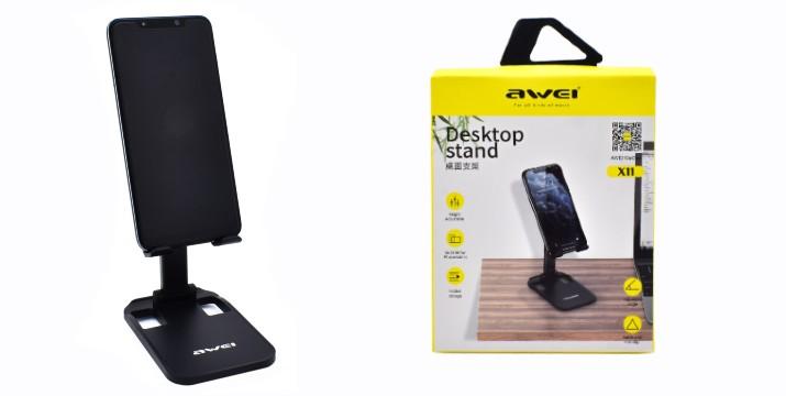 4,90€ από 9,90€ (-50%) για μία Αναδιπλούμενη Επιτραπέζια Βάση Αλουμινίου για Smartphone – Tablet Awei X11, με παραλαβή από το Idea Hellas και δυνατότητα πανελλαδικής αποστολής στο χώρο σας.
