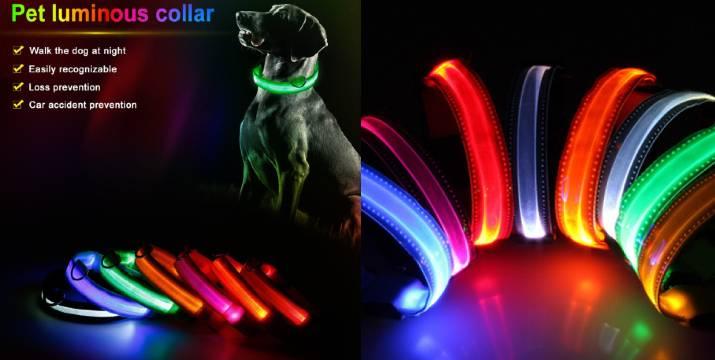 3,90€ από 9,90€ (-60%) για ένα Κολάρο Σκύλου Με Φωτισμό Led – Large 45cm – 52cm, με παραλαβή ή δυνατότητα πανελλαδικής αποστολής στο χώρο σας από το Idea Hellas στη Νέα Ιωνία.