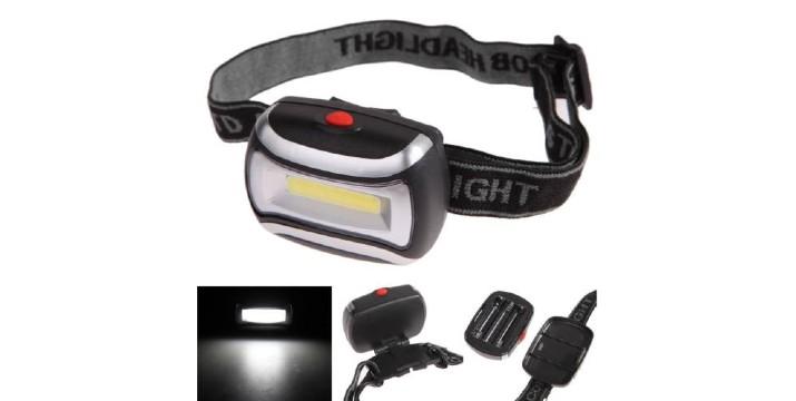 3,90€ από 9,90€ (-60%) για έναν Φακό Κεφαλής cob LED 3W, με παραλαβή ή δυνατότητα πανελλαδικής αποστολής στο χώρο σας από το Idea Hellas στη Νέα Ιωνία. εικόνα