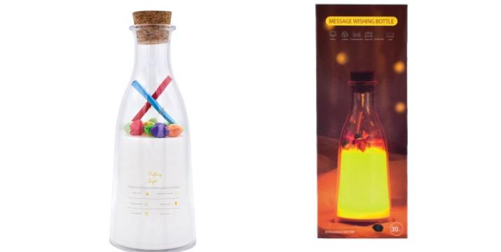 8,90€ από 14,90€ (-40%) για Διακοσμητικό Φωτιστικό LED RGB Μπουκάλι Ναυαγού, με παραλαβή ή δυνατότητα πανελλαδικής αποστολής στο χώρο σας από το Idea Hellas στη Νέα Ιωνία. εικόνα